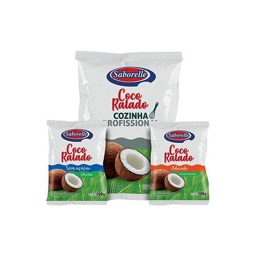 Coco ralado - 100g | 1Kg