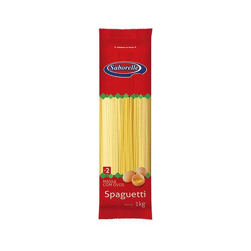 Macarrão Spaguetti nº 02 - 1Kg (Embal. Plástica)