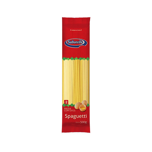 Macarrão Spaguetti nº 02 - 500g (Embal. Plástica)