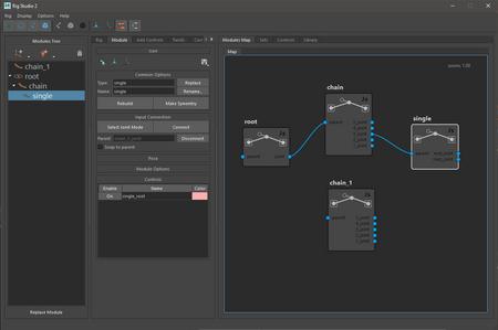 Rig Studio 2.0 is in developement.