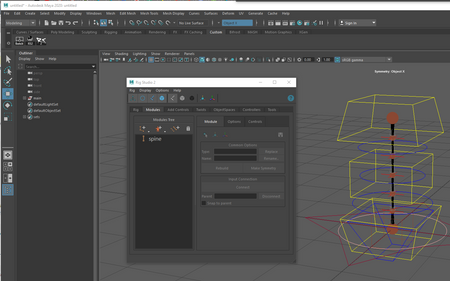 Rig Studio 2.1.1 with Maya 2020 support