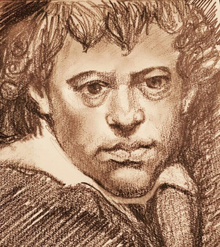 Sketch of Artist John Barry