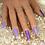 """Thumbnail: Custom Nail Set """"Lavender"""""""