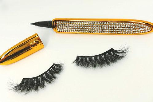 2in1 Black Eyeliner and Lash Glue