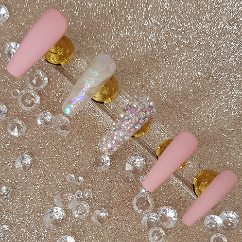 "Custom Nail Set ""Princess"""