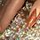"Thumbnail: Custom Nail Set ""Rose Gold"""