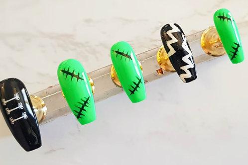 """Custom nail set """"Mr &Mrs"""""""