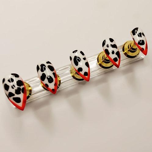 "Custom nail set ""Cruella"""