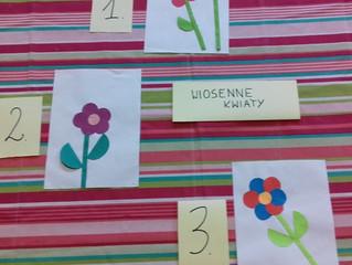 "Konkurs ""Wiosenne kwiaty"""