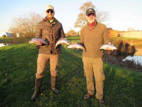 Mike and Toms trout haul December 2019 r