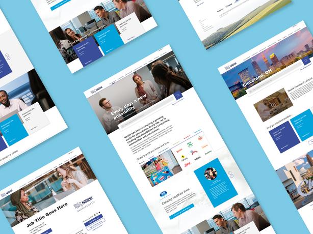 Nestlé Careers Website