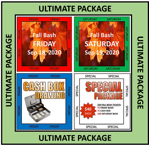 ULTIMATE TICKET PACKAGE