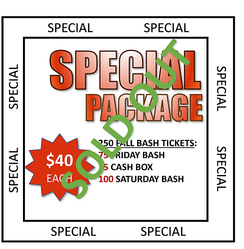 SPECIAL PACKAGE DRAWING
