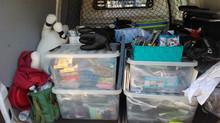 Uitpakken en sorteren