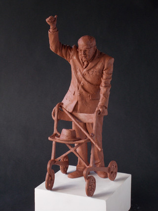 Sir Tom Moore maquette