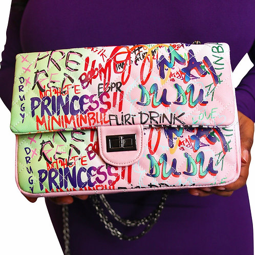 Graffiti Purse