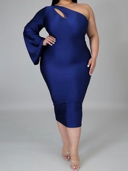 Sexy Blue Dress