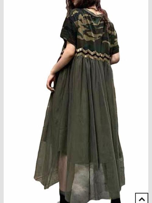 Camouflage Dress