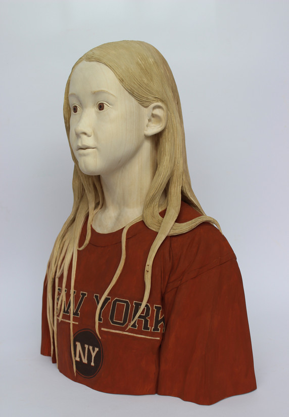 Reid G - Girl Wearing Father's T Shirt