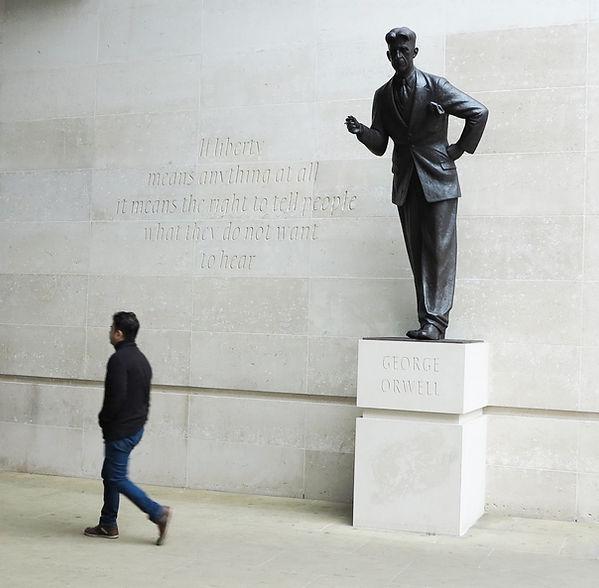 Martin's Orwell statue