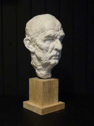 Old Man Head Study