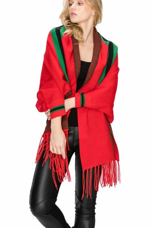 Gucci Inspired Poncho