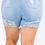 Thumbnail: Plus size Distressed Shorts