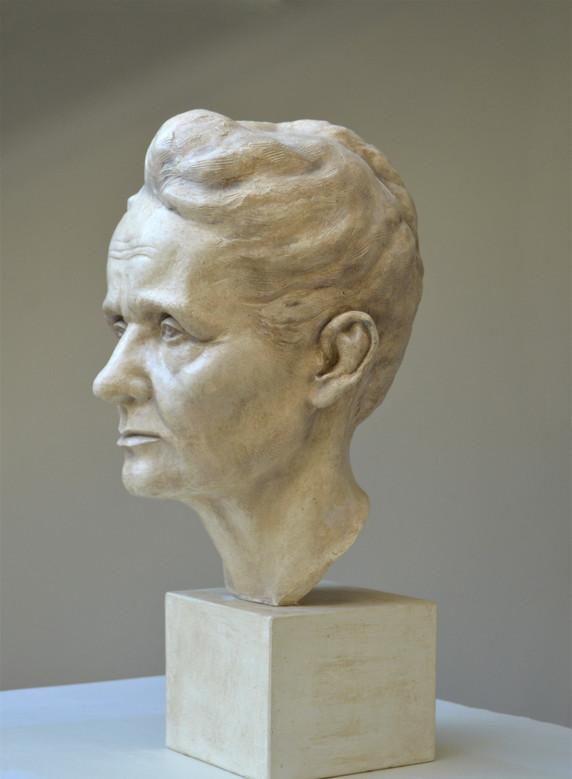 Portrait of Marie Curie Sklodowska