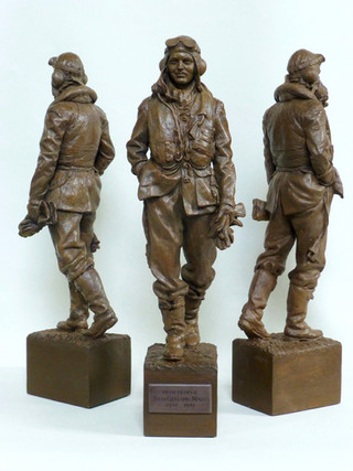 Maquette for John Gillespie Magee