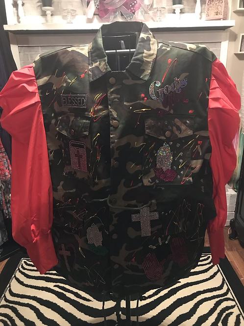 Camouflage Praise Jacket
