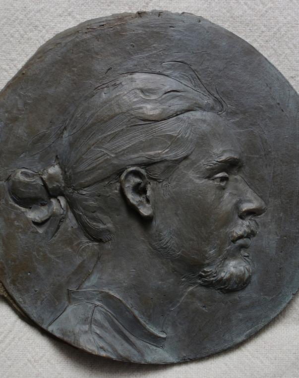 Aftanas M - Self portrait in relief - 1.