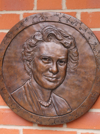 Portrait of Scientist Rosalind Franklin