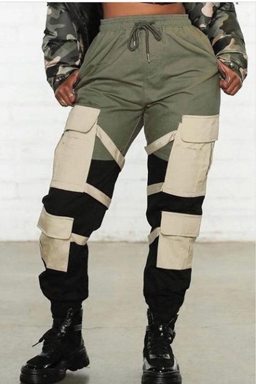 Pocket Strap Pants