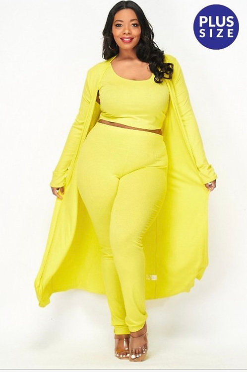Lemon Drop 3 Piece Set