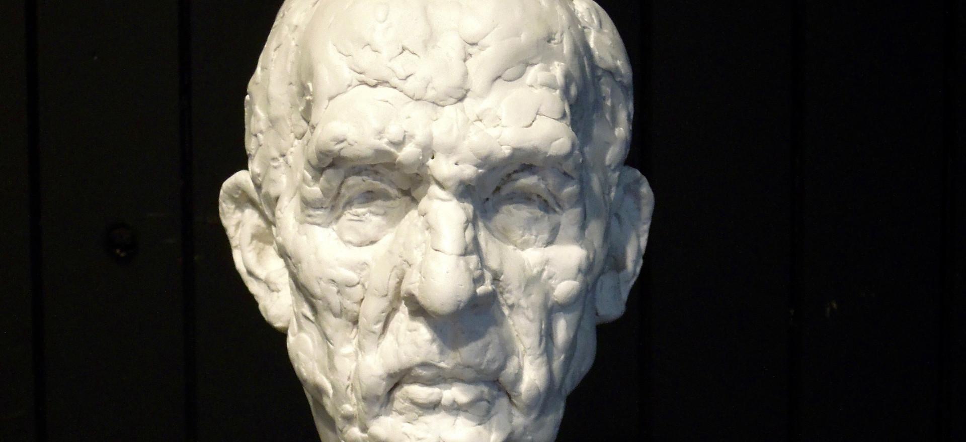 Old Man Head Study no 2