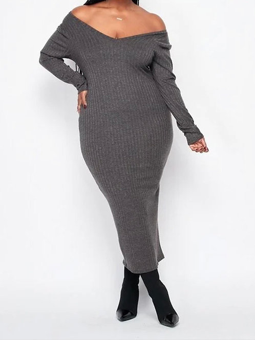 Grey Bodycon