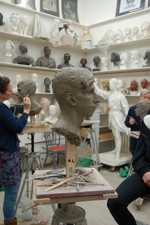 Portrait Sculpture Classes