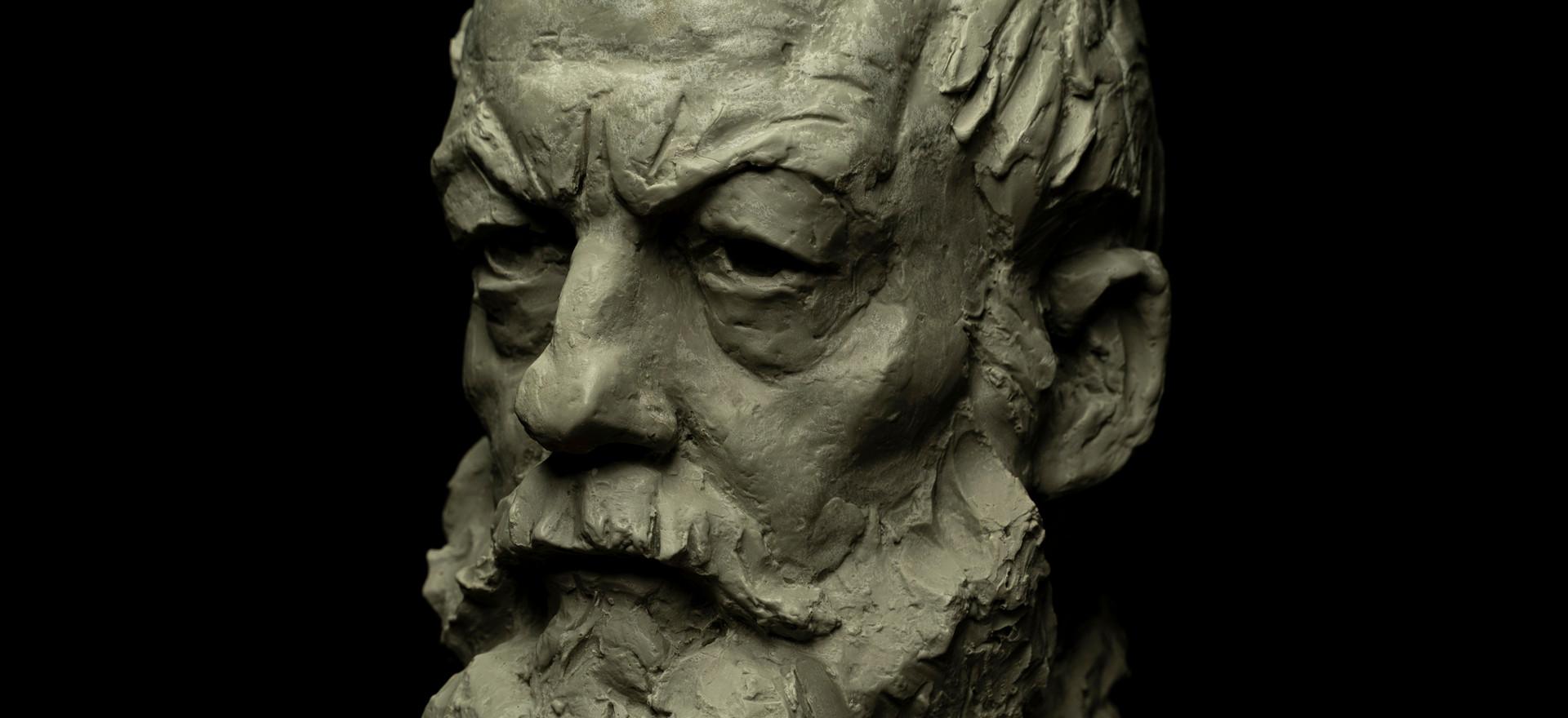 Portrait of Actor Liam Cunningham