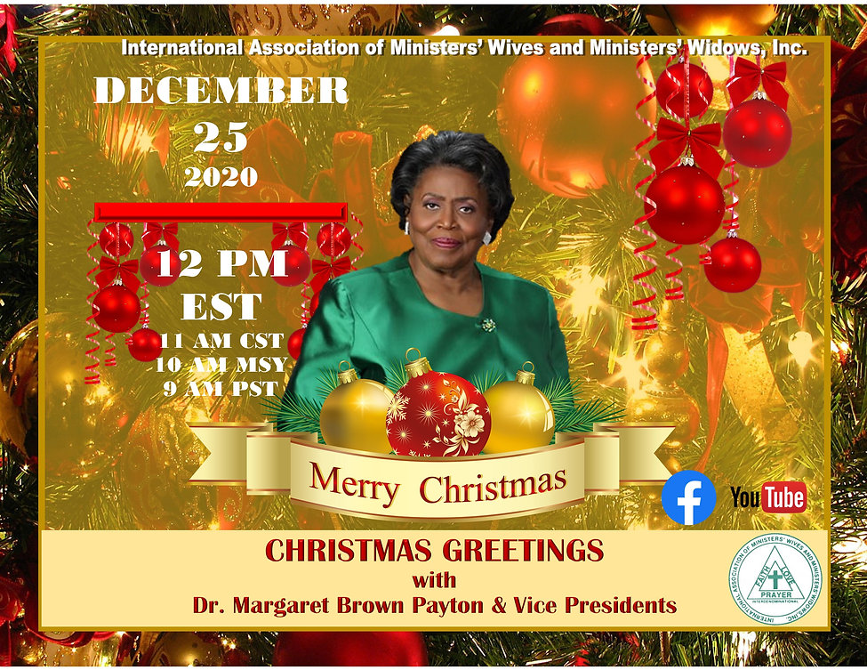 Christmas Greetings from President and V