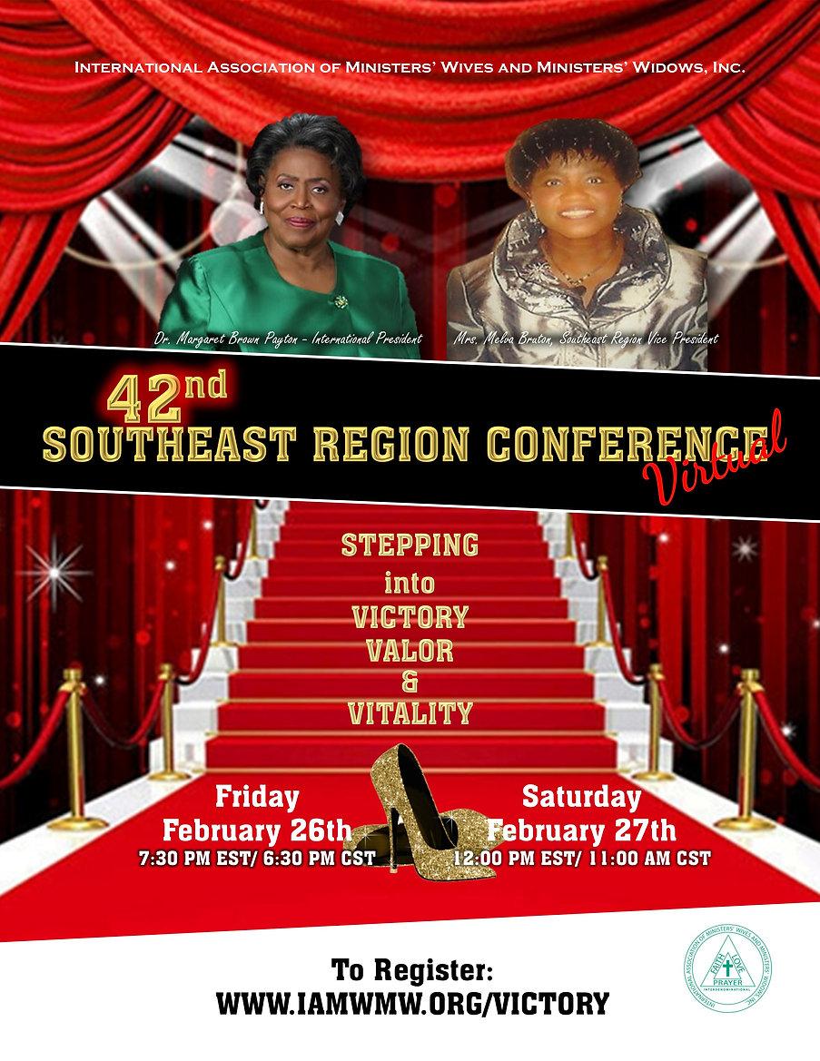 Southeast Region Virtual 2021 update 2.j