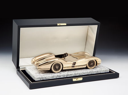Bronze Car Model