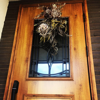 entrance decoration