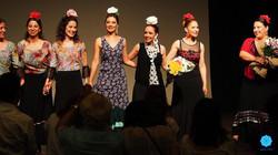 azulmavi flamenko gösterisi