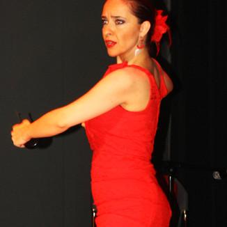 Melis Cangüler Azulmavi Flamenko Akademi yıl sonu gösterisi 2017