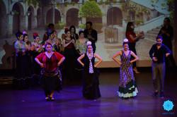azulmavi flamenko gösterisi buleria