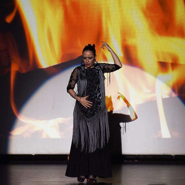 Melis Cangüler Azulmavi Flamenko Akademi yıl sonu gösterisi 2016