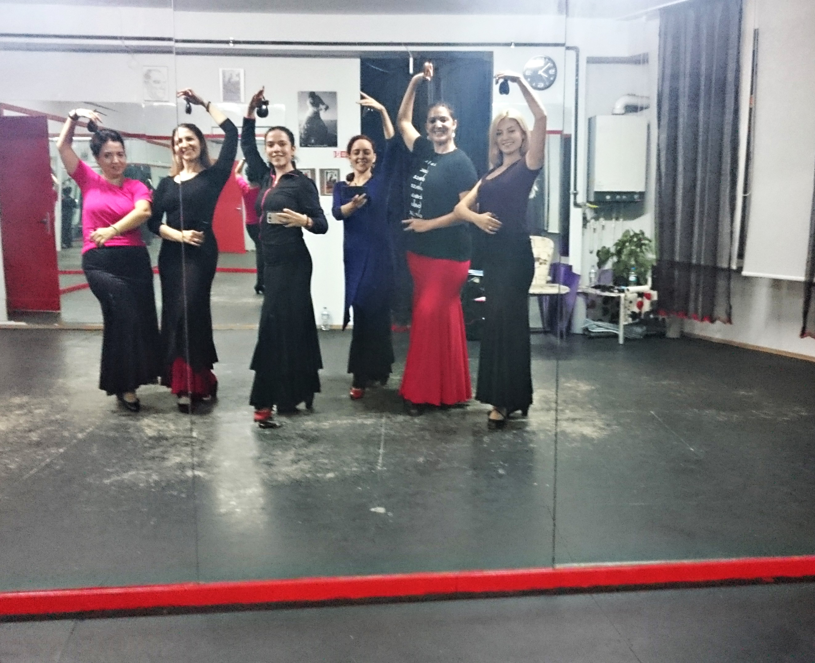 sevilla azulmavi flamenko