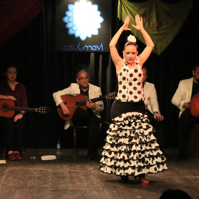 Melis Cangüler Azulmavi Flamenko Akademi yıl sonu gösterisi 2015