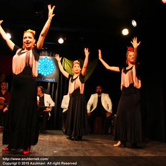 Melis Cangüler Azulmavi Akademi 2015 Sene Sonu Gösterisi
