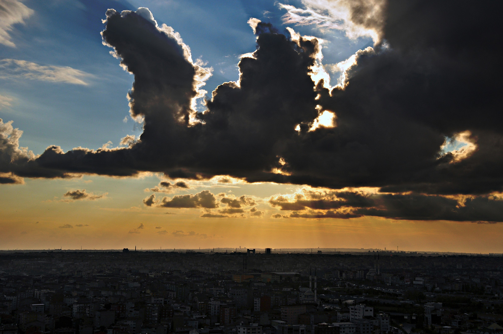 Clouds over Istanbul